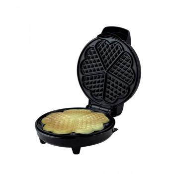 Гофретник ZEPHYR ZP 1442 GD, 1200W, 5 сърцевидни гнезда, Регулиране на температурата