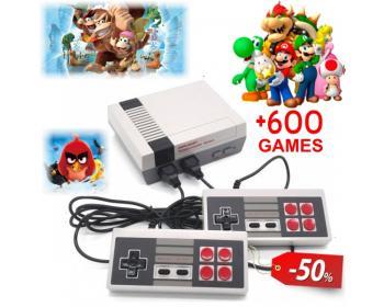 АКЦИЯ Телевизионна Видео Игра Nintendo CoolBaby + БОНУС 600 вградени игри