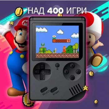 АКЦИЯ! Преносима игра с цветен дисплей Viva + БОНУС 400 игри - 8 Bit Classic Game, Връзка с телевизор TV Out