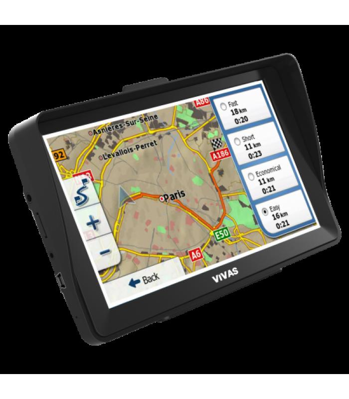 "GPS навигация за кола и камион Vivas Titan 777 HD EU, 7"""