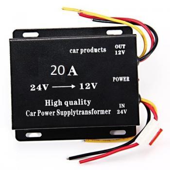 Трансформатор конвертор на напрежение от 24 V на 12 V DC 24-12 20А