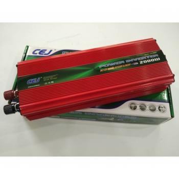 Висококачествен Инвертор на напрежение CEJ 24V - 220V 2000W