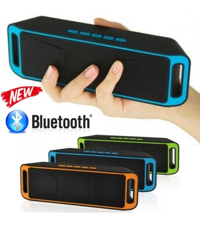 Луксозна Портативна Блутут колона Wireless BT Speaker Megabass 208