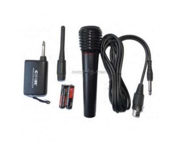 Безжичен и жичен микрофон CEER