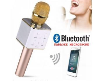 Безжичен Блутут Караоке Микрофон с вграден говорител BT Microphone Q7