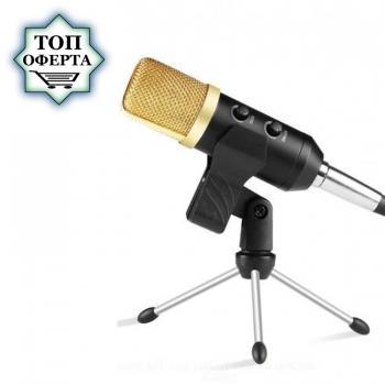 Професионален кондензаторен микрофон за студио и стрийминг F100
