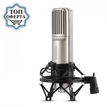 Професионален кондензаторен микрофон за студио и стрийминг Q8