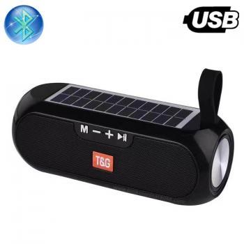 Bluetooth Колона G-182, Power Bank, Соларно зареждане