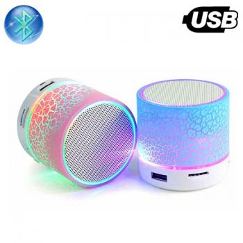 Bluetooth Колонка с диско ефекти Bluetooth Music Box A9