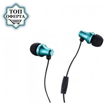 Слушалки с микрофон Fenda Spiro E260 Mint, In-ear, подходящи за телефон / таблет