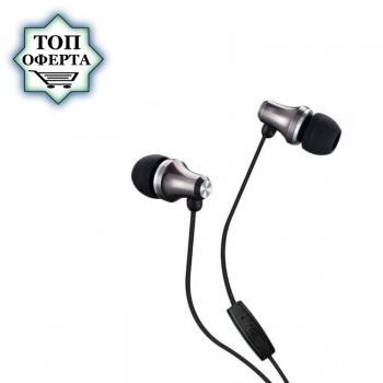 Слушалки с микрофон Fenda Spiro E260 Gray, In-ear, подходящи за телефон / таблет