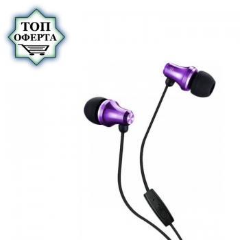 Слушалки с микрофон Fenda Spiro E260 Purple, In-ear, подходящи за телефон / таблет