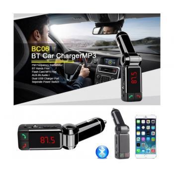 Автомобилен Bluetooth FM трансмитер с USB зарядно за GSM Bluetooth Car Charger