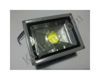 Външен LED прожектор с лупа Led 30W